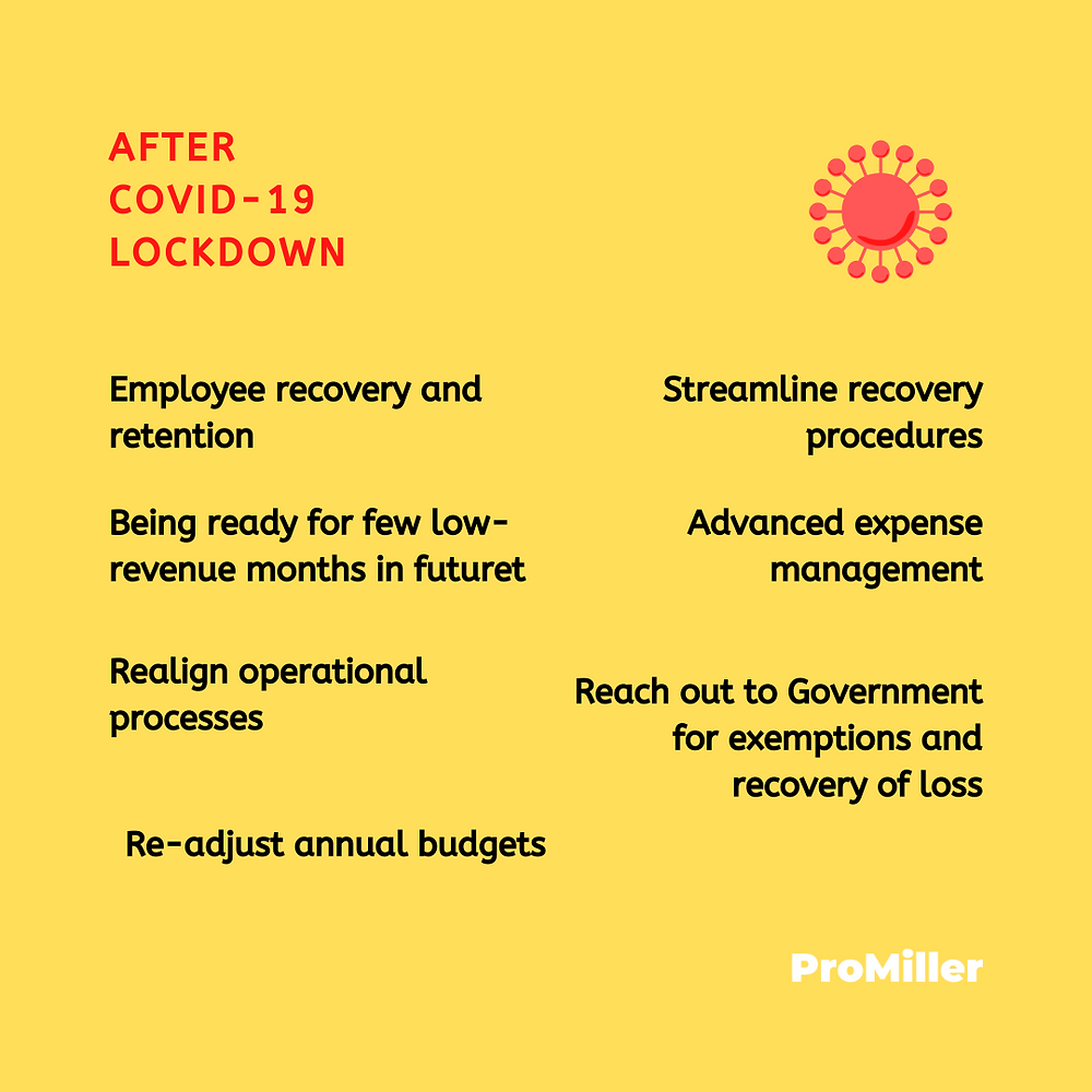 ProMiller tells what should hotels and hotel owners do in COVID-19 lockdown.