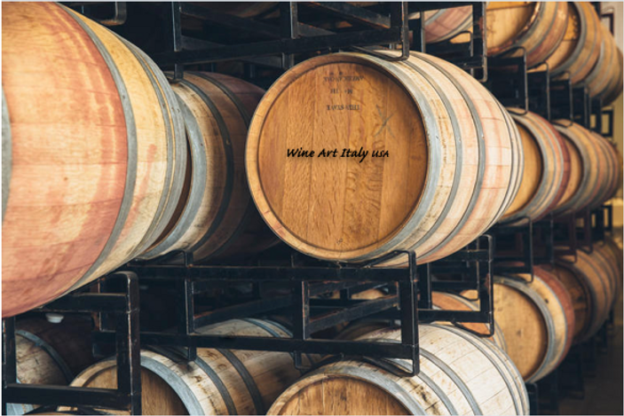 Barrel Wine Art Italy USA.png