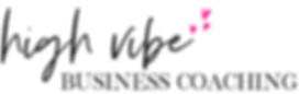 high vibe business coaching logo alterna