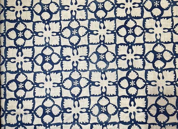 Anna Spiro - Grandma's Quilt - Blue White