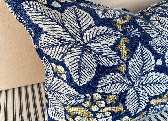 William Morris Bramble cushion