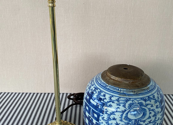 Poppy Table Lamp - Polished Brass