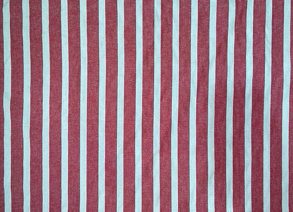 French Woven Red Stripe