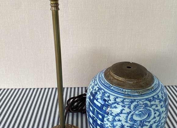 Poppy Table Lamp - Old Brass