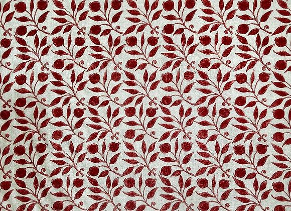 William Morris - Bramble- Red