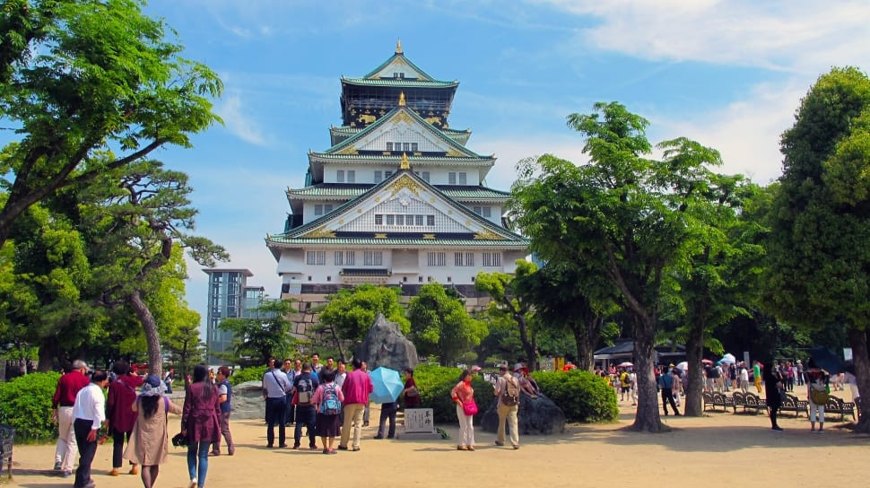 osaka-castle-osaka-walking-itinerary