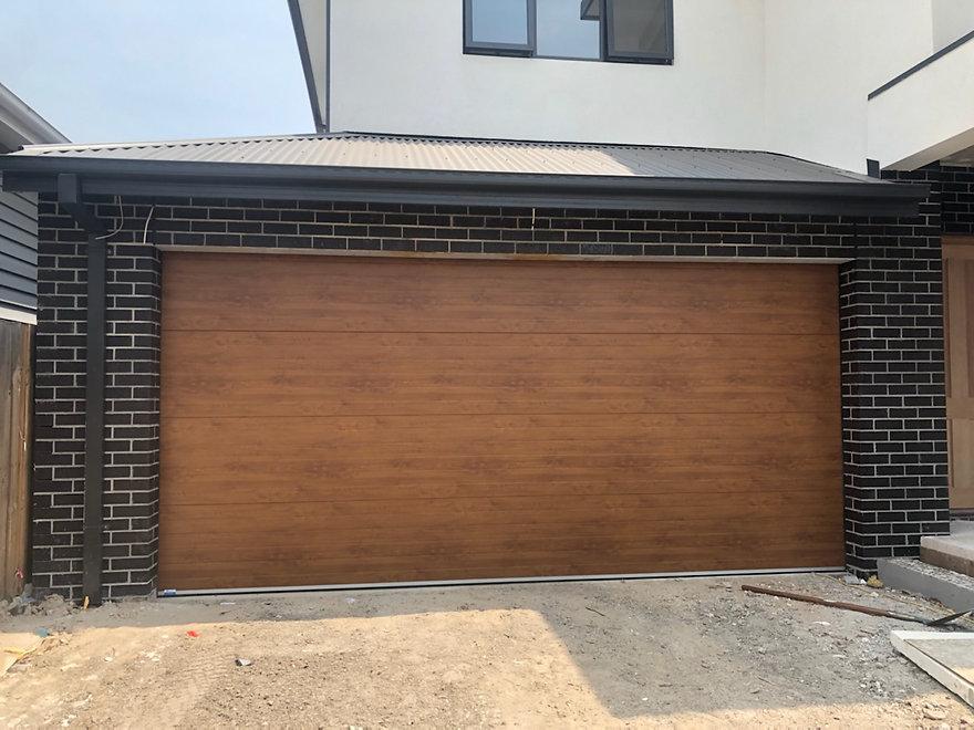 Danmar Insulated Timber Look Panel Door