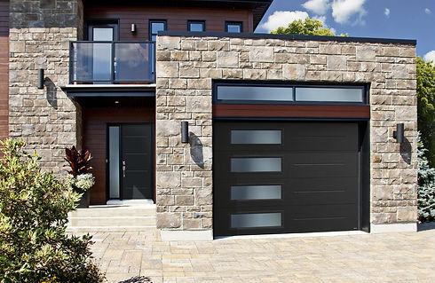 Custom Garage Door with Windows Melbourn