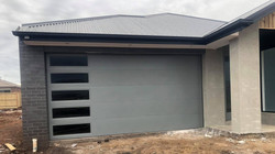 Custom Sectional Garage Door with Windows