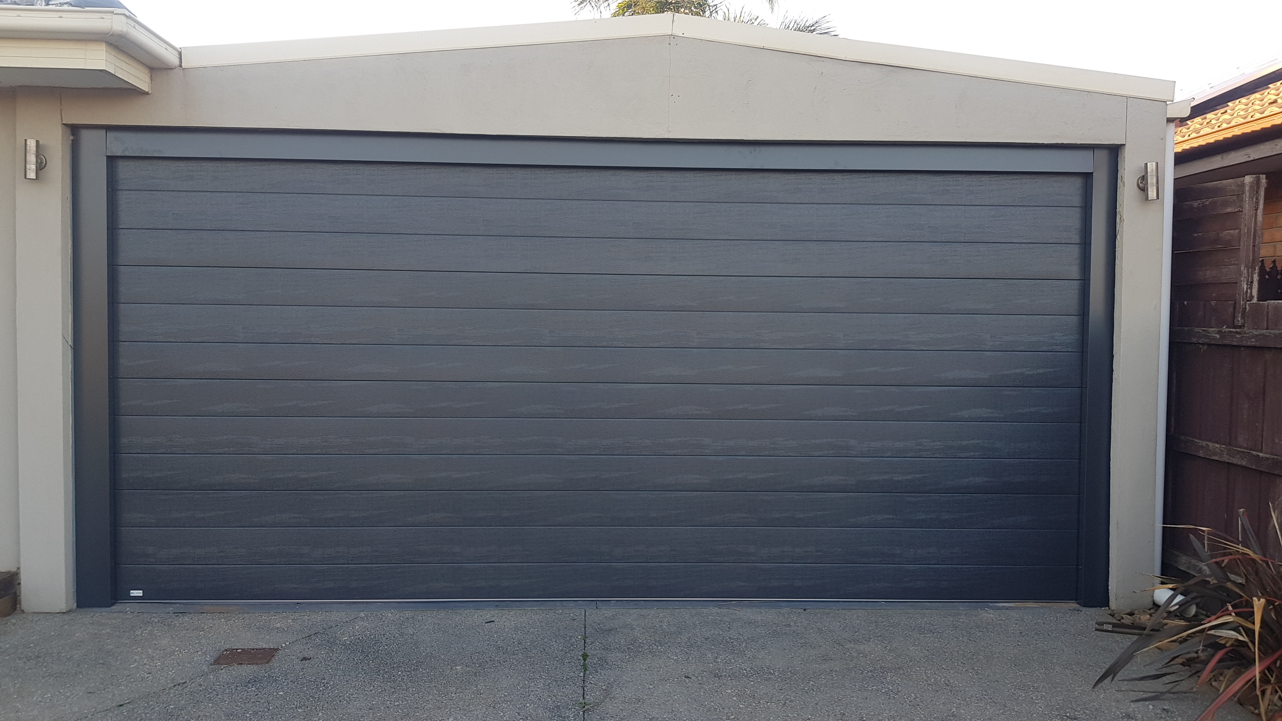 Werribee Carport Conversion Tuscan Panel