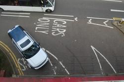 Entrance to car park. 2012.
