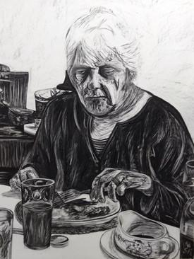 Nan eating