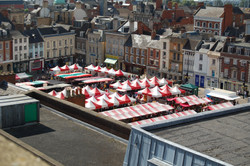 Northampton market square. 2012.