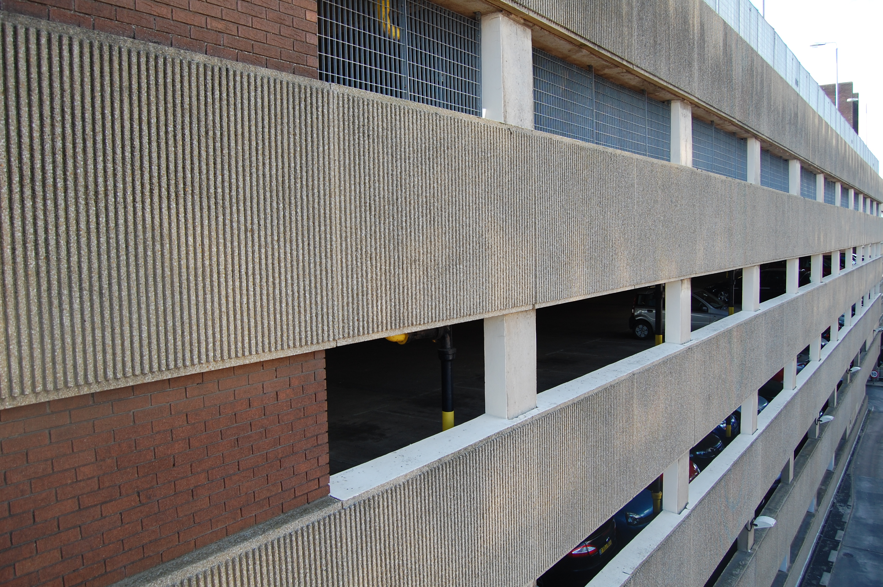 Car park side view. 2012.