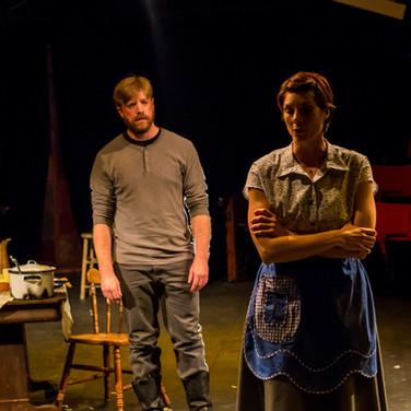John Proctor - Sean Rethmeier Elizabeth Proctor - Jennie Hinterreiter  Photo by Sean Rethmeier Photography