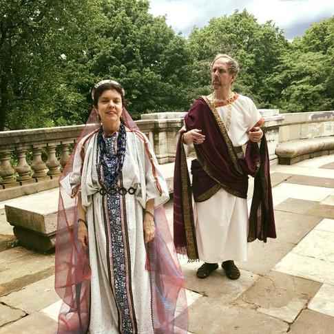 Leontine & Hermocrate in Love