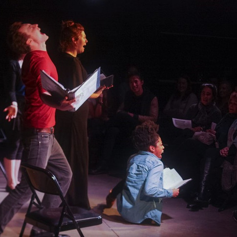The One Minute, Non-Musical La Boheme for One or More Actors by Meron Langsner