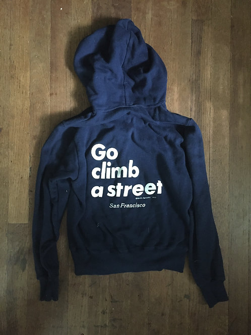 1977 San Francisco souvenir hoodie sweatshirt