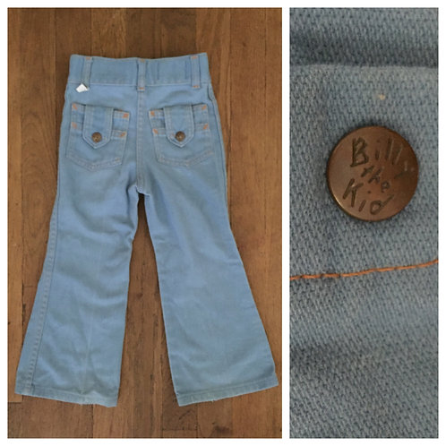 1970s BILLY THE KID BELL BOTTOM JEANS