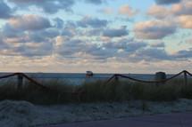 Uitzicht vanaf De Koog Strand