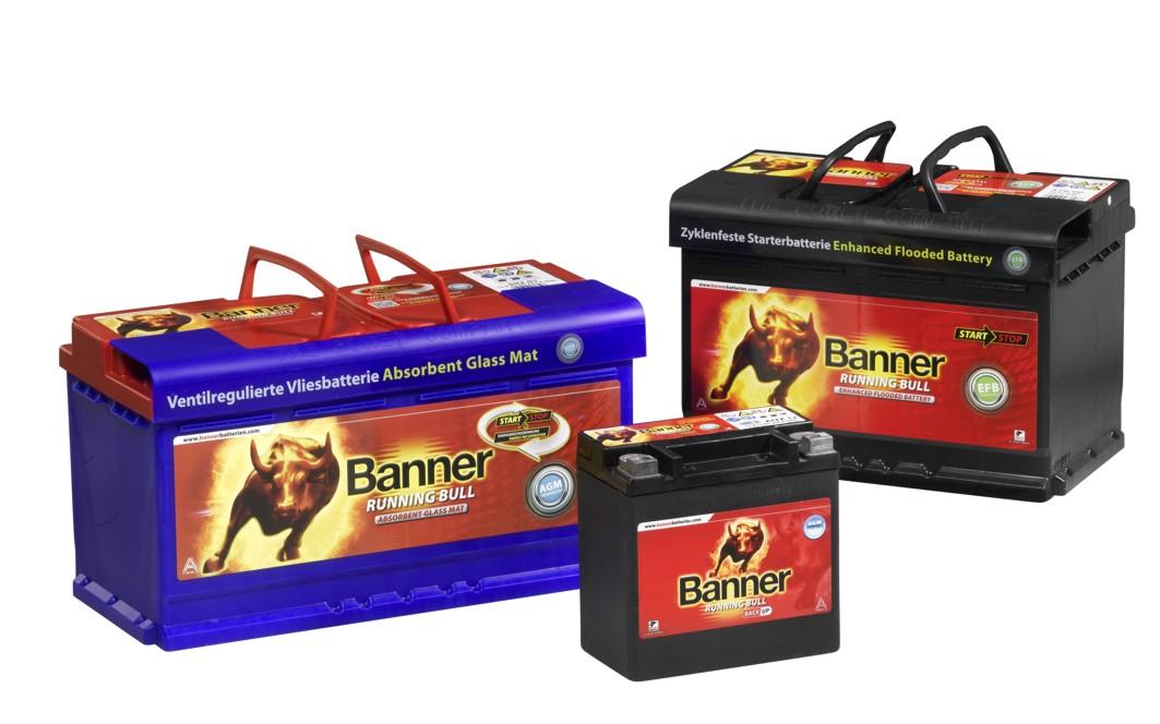 Banner-Batterien aus Östereich