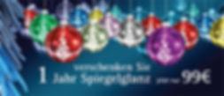 Kampagnenmotiv: weihnachtlicher Spiegelglanz
