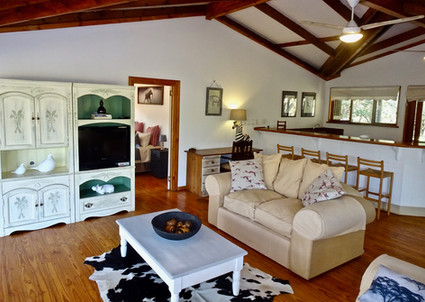 Imani House main room with DSTV