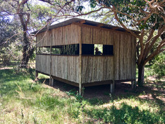 Bird Hide 300m from Silver Sky Chalet