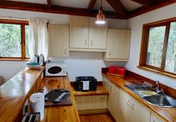 Kitchen at Silver Sky Chalet, Imani Bush House