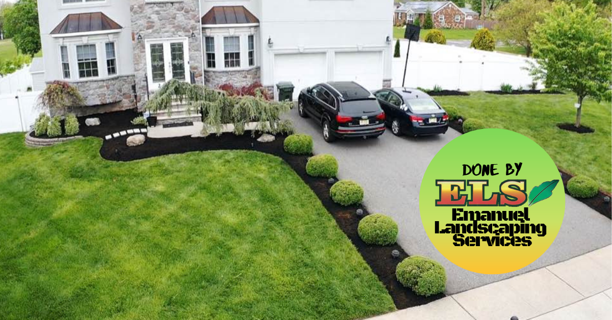 Drive way landscape design