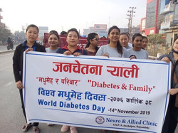 Team rally Diabetes