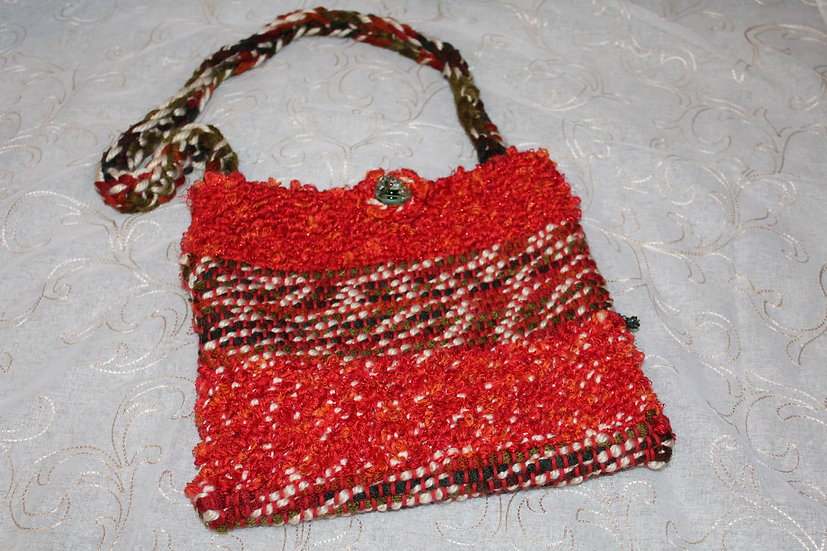 Synthetic Fiber Woven Purse