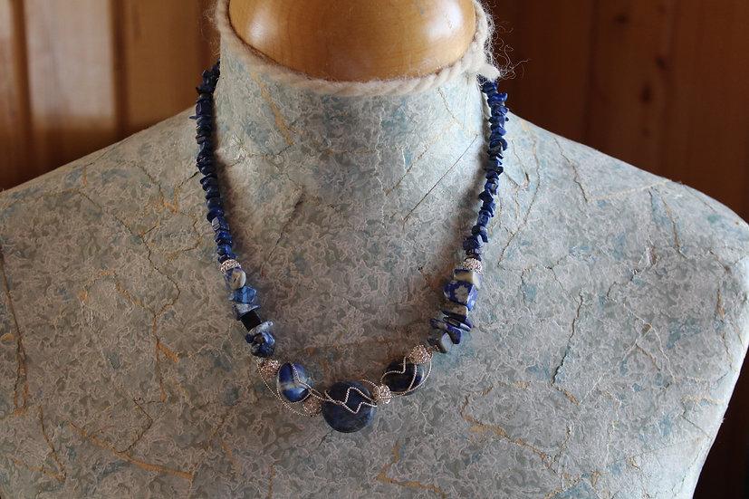 Lapis Lazuli & Sterling