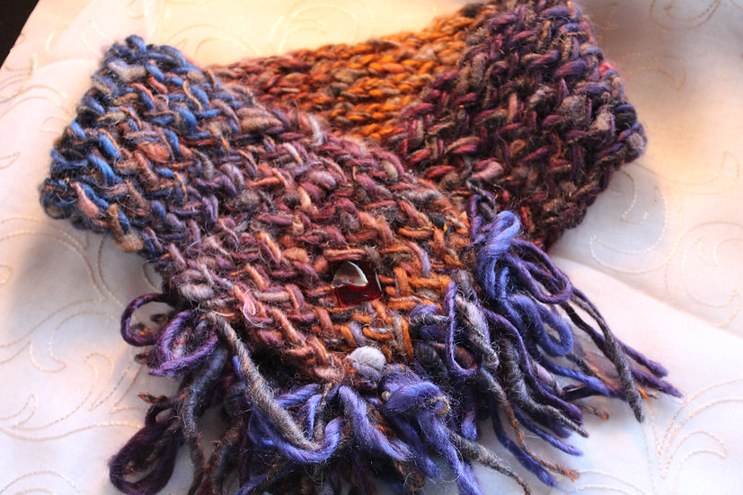 Alpaca + Synthetic Fiber Cowl