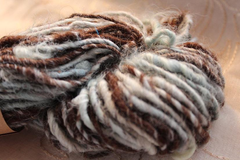 BLU04 - Leicester Long Wool + Alpaca