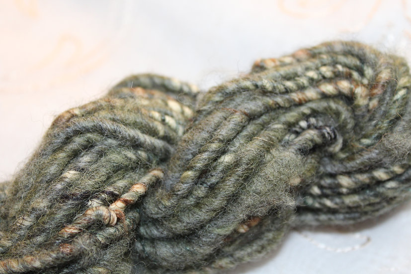 Nigora (goat) + Synthetic plied