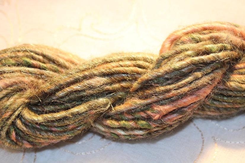 GRN49 - Suri Alpaca + Shetland Blend + Leicester LW - Core Spun