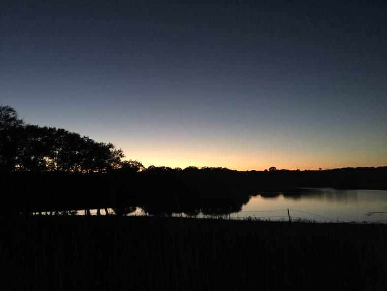 Sun Set over Lake.jpg