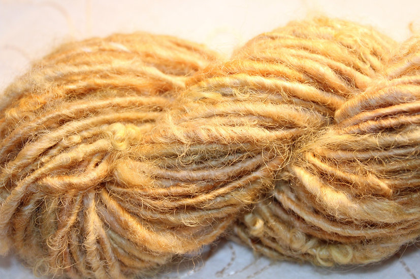 Leicester Long Wool, Lock Spun