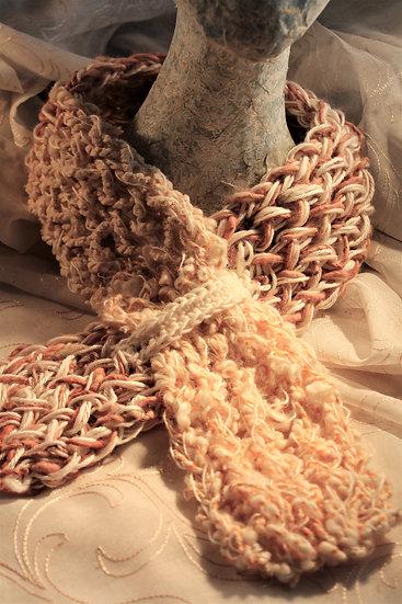 Virgin Wool, Mohair & Alpaca Cowl