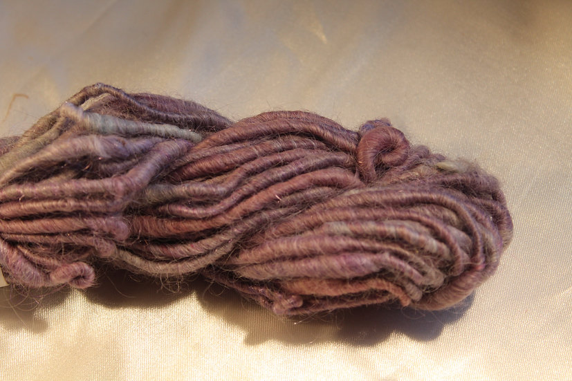 PUR44  - Leicester Long Wool, Thick-Thin