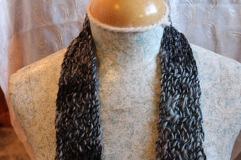 Leicester Long Wool Scarf