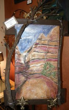 Tent Rocks Slot Canyon
