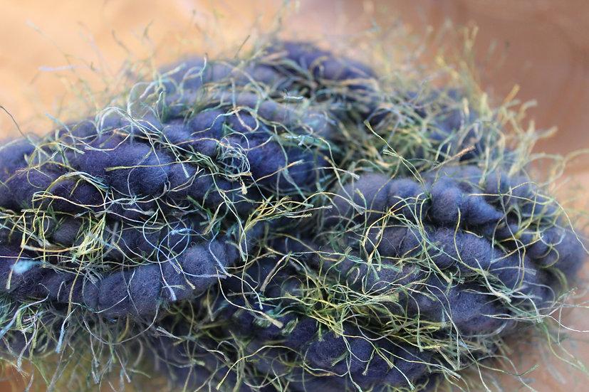 Leicester Long Wool x Cheviot , Coil-Spun