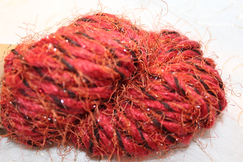 Mohair + Synthetic 3-Ply