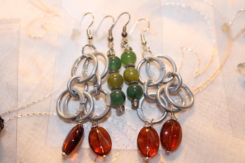 Glass/Aluminum & Green Quartz