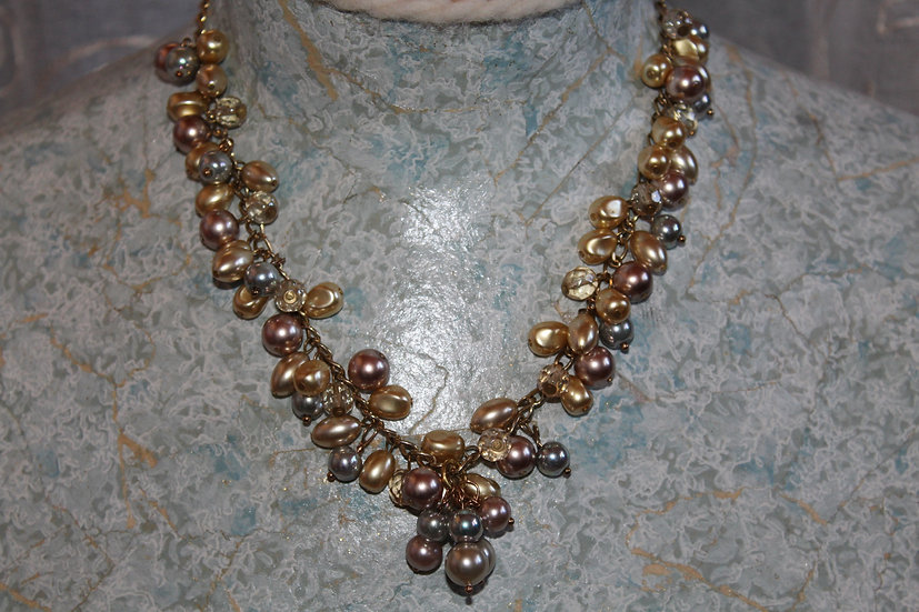 Antique Pearls & Glass Beads
