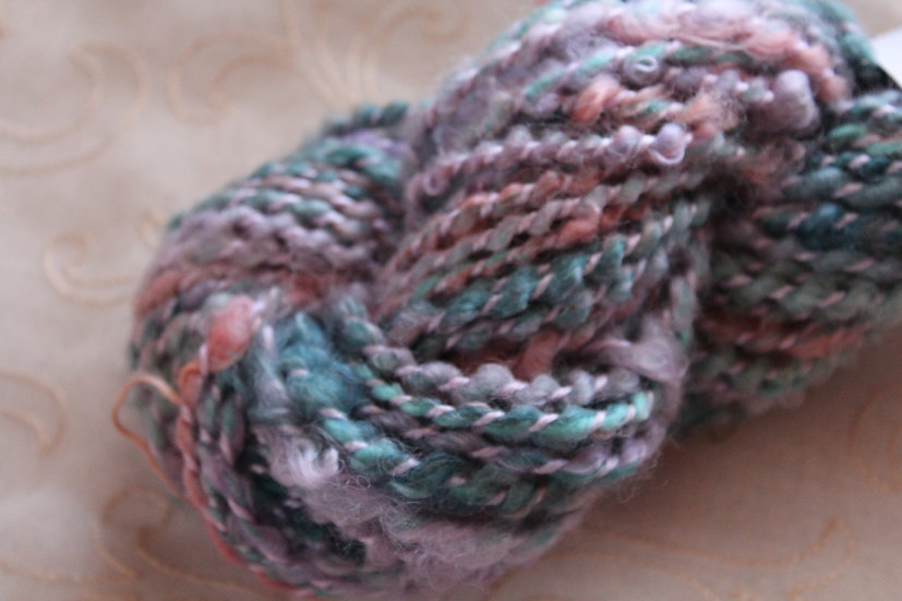 Leicester Long Wool, Lock-spun/Coil-Spun