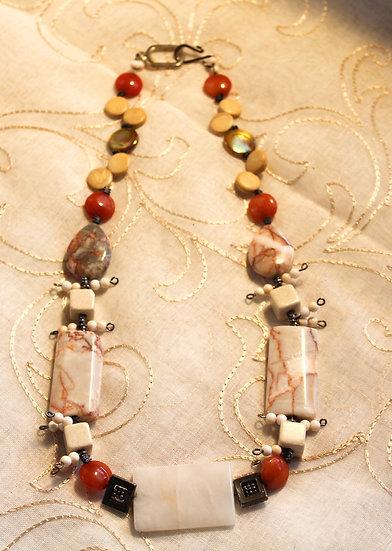 Redline Marble, Jade & Shell