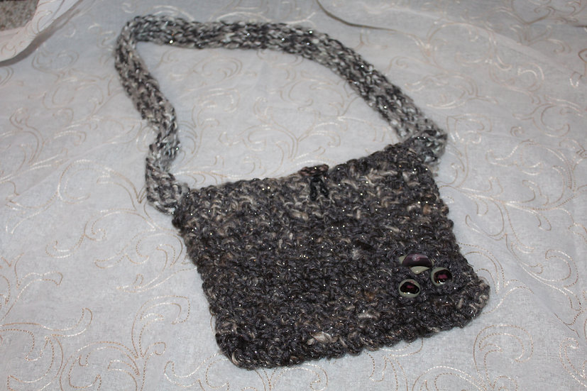 Alpaca Crocheted Purse